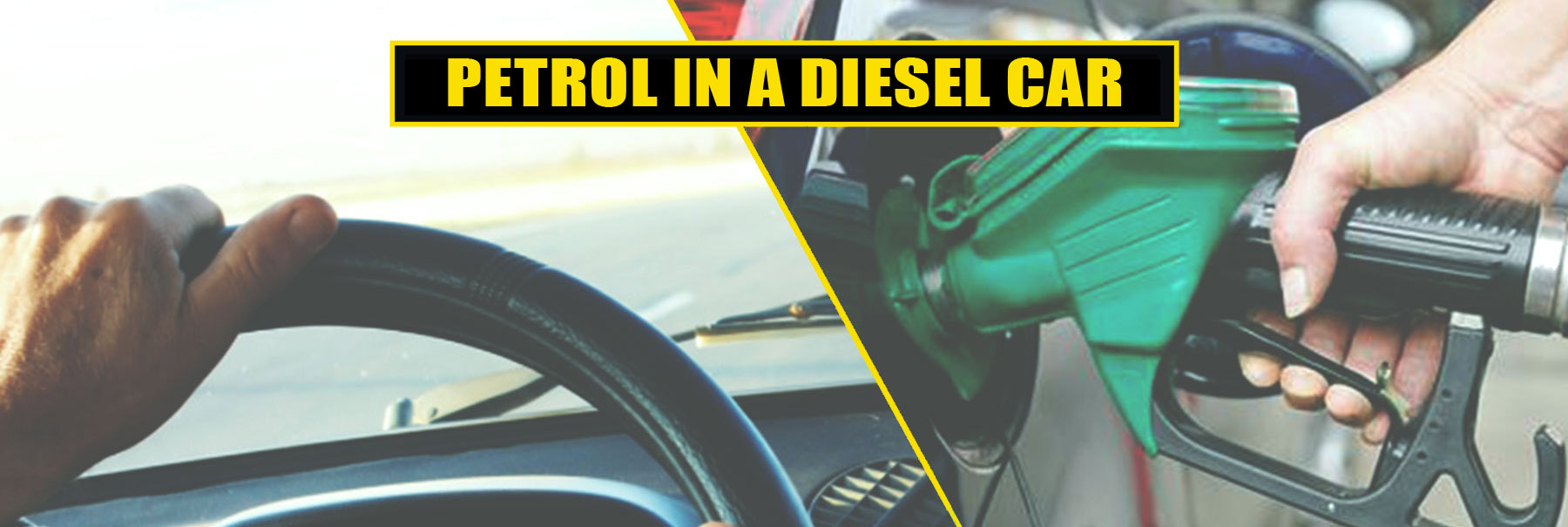 Continue on the wagon with the petrol in diesel car service